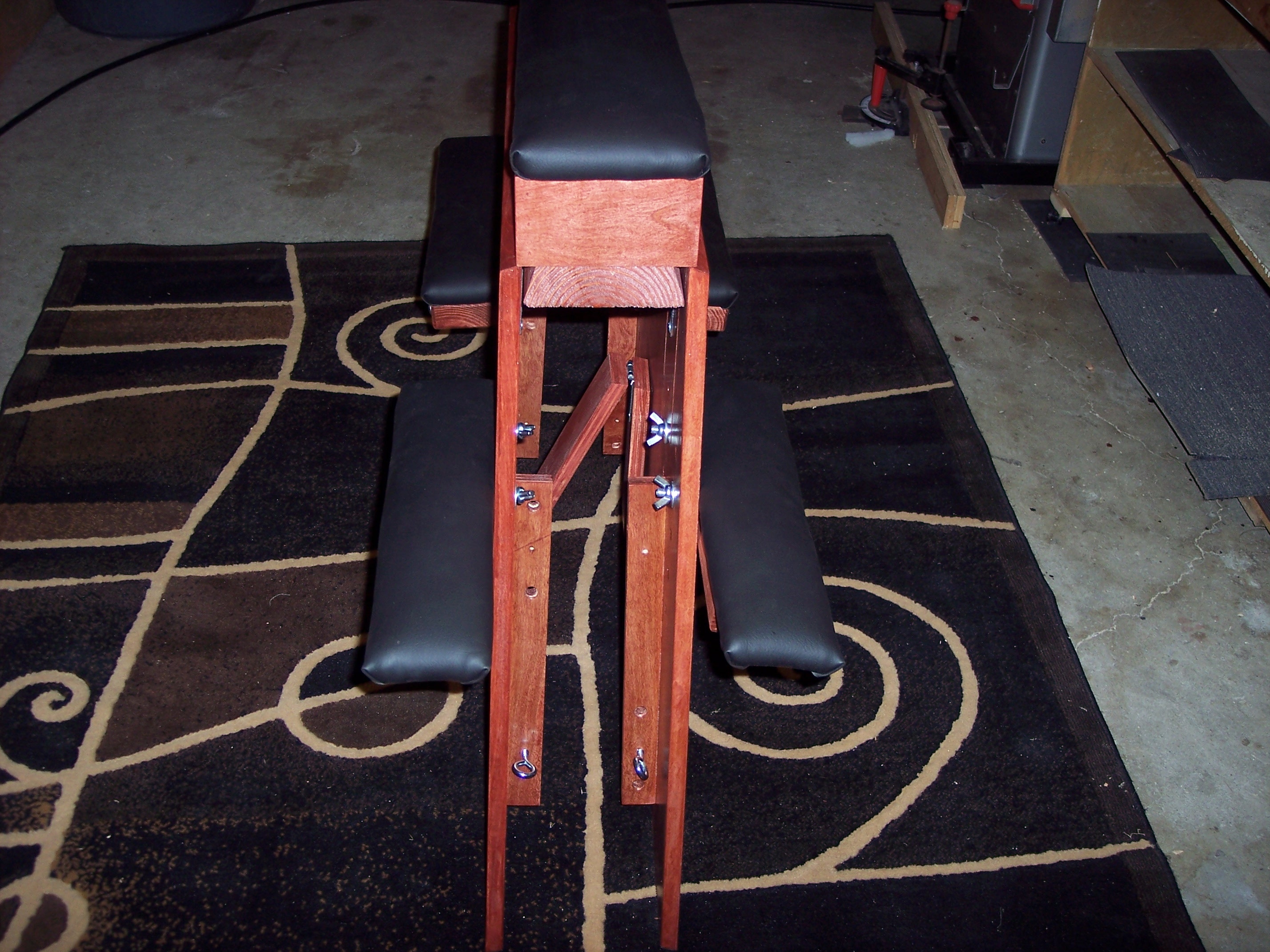 Sedona red spanking bench